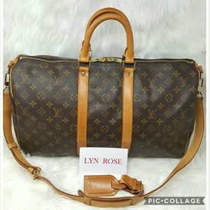 Authentic Louis Vuitton Keepall 45 Bandoliere